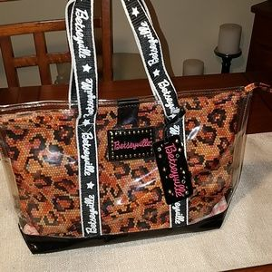 Betseyville Clear Vinyl Tote